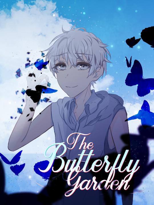 The Butterfly Garden Riisana Cover